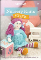 Sirdar Book 486 - Nursery Knits for Girls - Sirdar Snuggly Baby DK